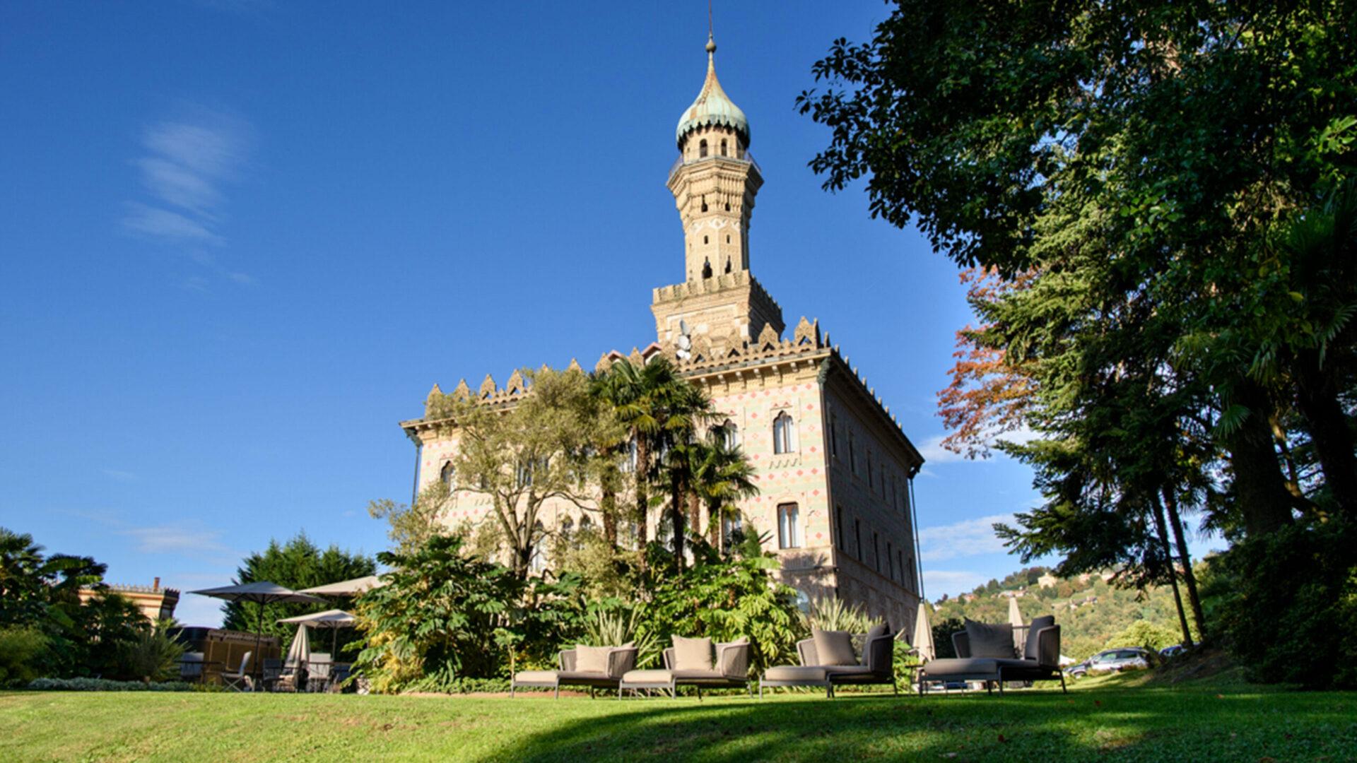 Esterno Villa Crespi